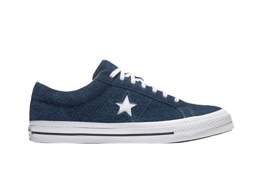 Converse One Star Premium Suede Navy White