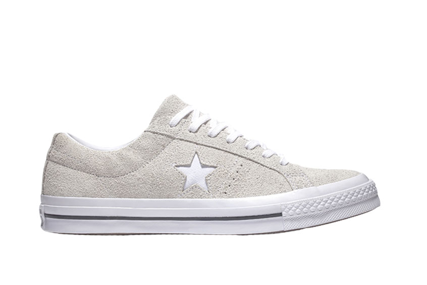 Converse One Star Vintage Suede Low Top White