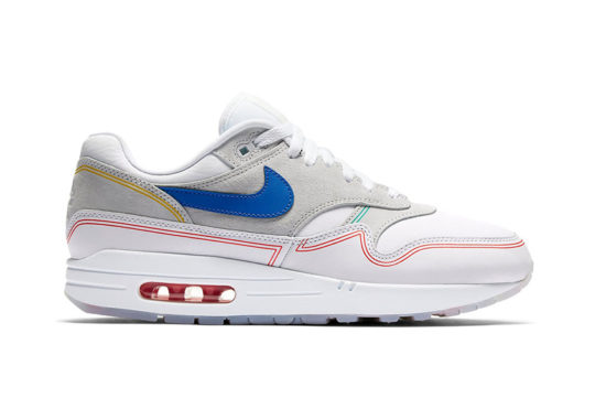 Nike Air Max 1 Centre Pompidou Pack White Multi