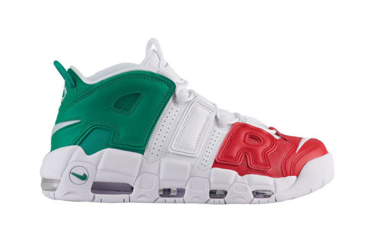 Nike Air More Uptempo Italy Multi