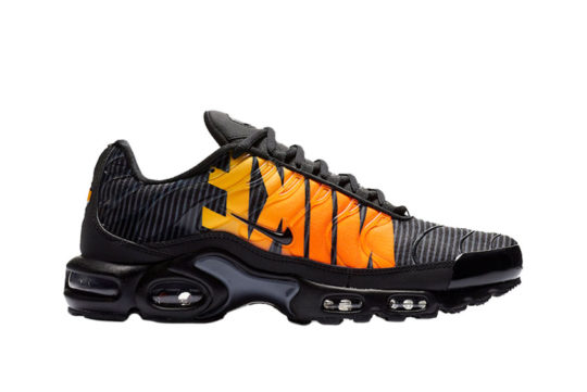Nike TN Air Max Plus Striped Black Orange