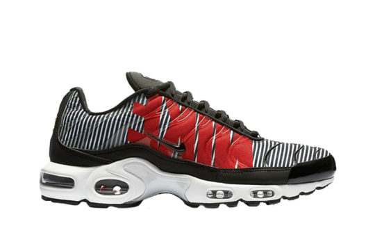 Nike TN Air Max Plus Striped Black White