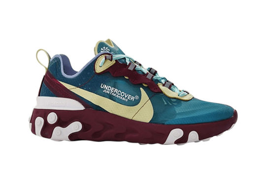 UNDERCOVER x Nike React Element 87 – Blue Gold