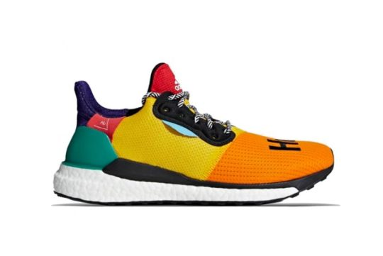 "Adidas Pharrell Williams Hu Solar Glide ""Bold Gold"" BB8042"