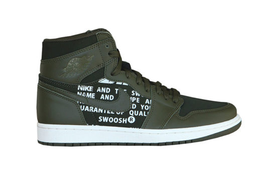 Jordan 1 High OG Olive Canvas