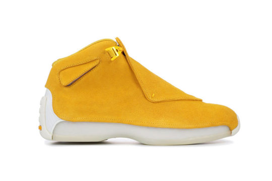 Jordan 18 Yellow Suede