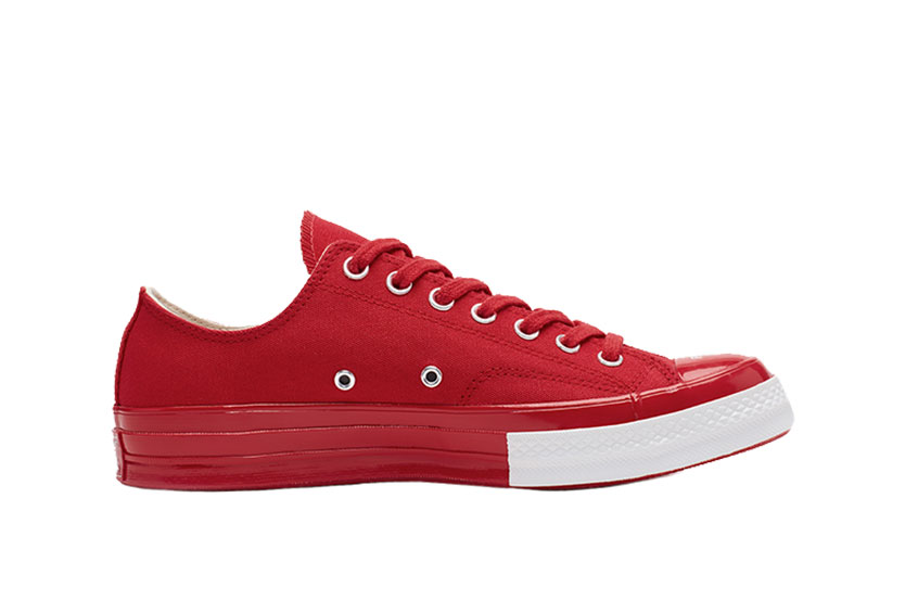 Undercover x Converse Chuck 70 OX Red 163012c