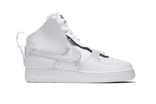 "Nike Air Force 1 ""PSNY"" White AO9292-101"