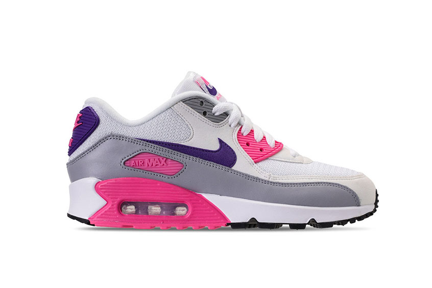 outlet store e5ed2 f6b1e discount code for nike air max 90 mesh gs 3498d fceba  italy how to buy the nike  air max 90 grey pink concord womens e5b17 839e4
