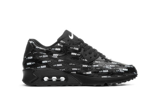 Nike Air Max 90 Premium Just Do It Black