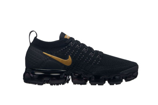 Nike Air VaporMax Flyknit 2 Black Gold 942843-012