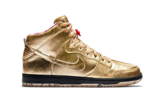 Humidity x Nike SB Dunk High Trumpet Gold AV4168-776