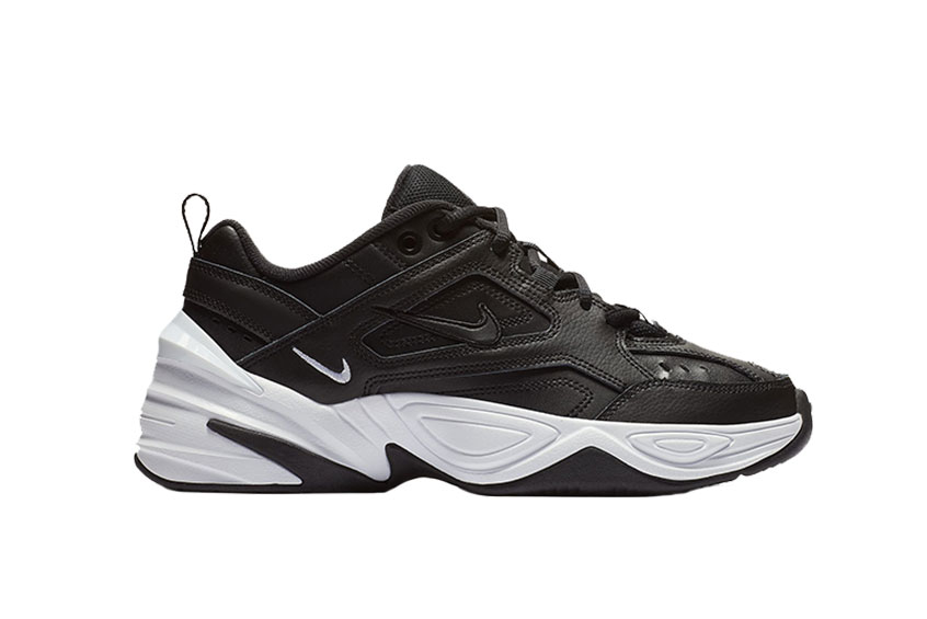 Nike M2K Tekno Black White Womens AO3108-005