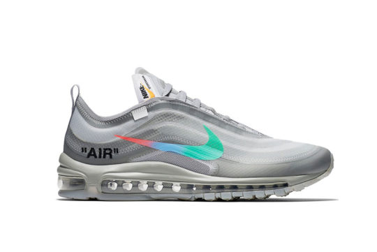 Off-White x Nike Air Max 97 Grey Mentha AJ4585-101