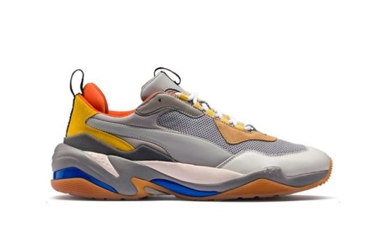 "Puma Thunder Spectra ""Grey & Yellow"" 367516-02"