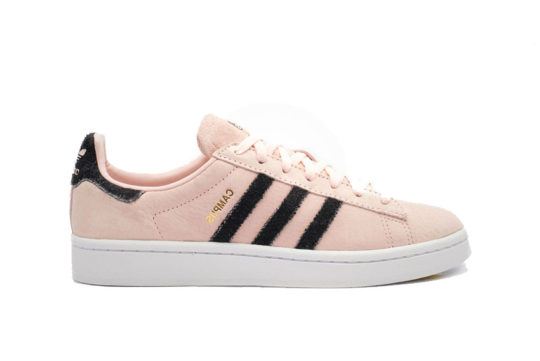 adidas Campus Pink Black Womens B37934