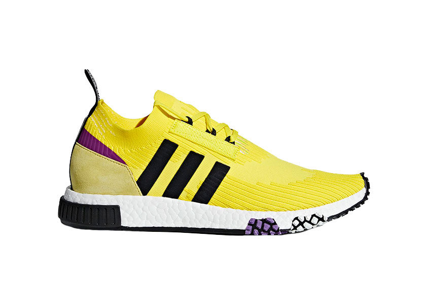 adidas NMD Racer Yellow Purple B37641