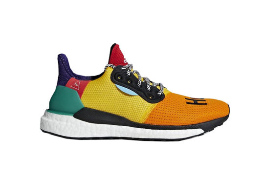 Pharell Williams adidas Solar HU Glide Yellow Multi Womens DB3038