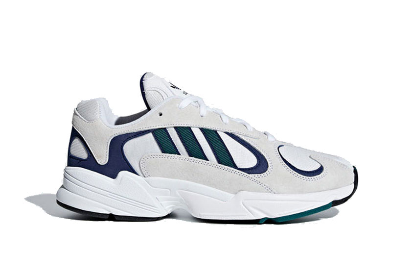 adidas Yung 1 White Blue Green : Release date, Price & Info