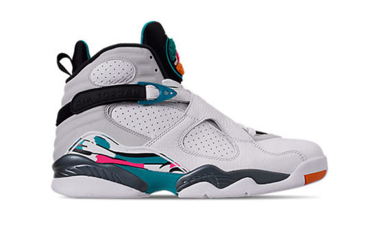 Jordan 8 South Beach White 305381-113