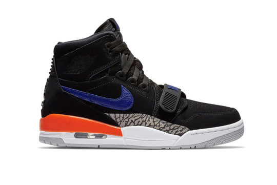 Jordan Legacy 312 Knicks Black Blue AV3922-048