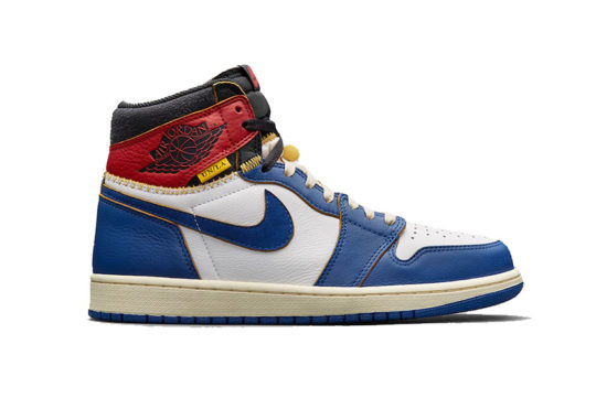 UNION x Air Jordan 1 – Blue Toe BV1300-146