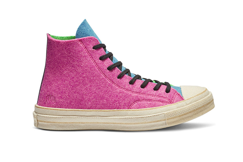 a8b8ecb47e4c How to buy the Converse X JW Anderson Chuck 70 Hi Pink Multi