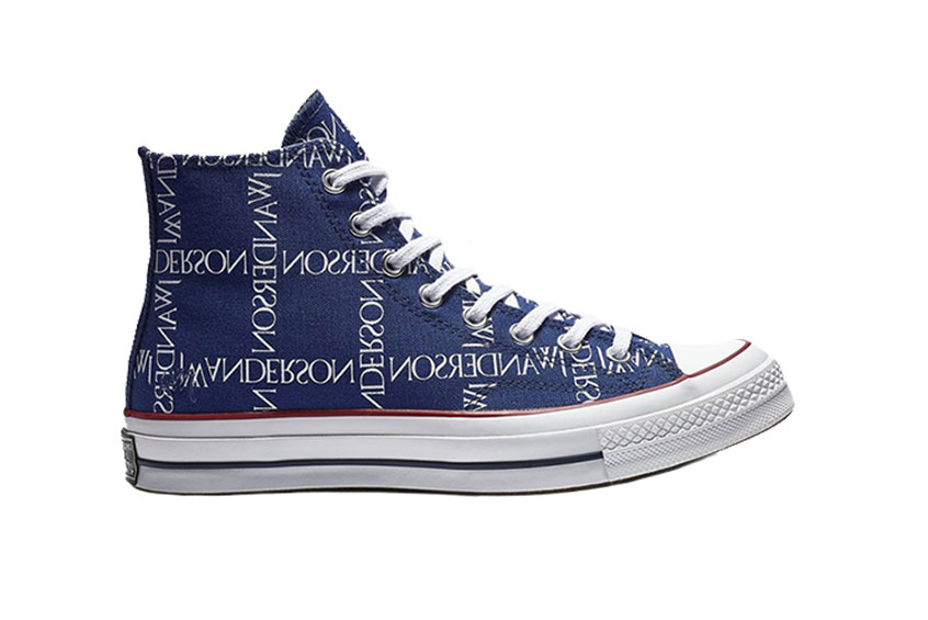 32bc4c83595 How to buy the Converse X JW Anderson Chuck 70 Hi Print Blue