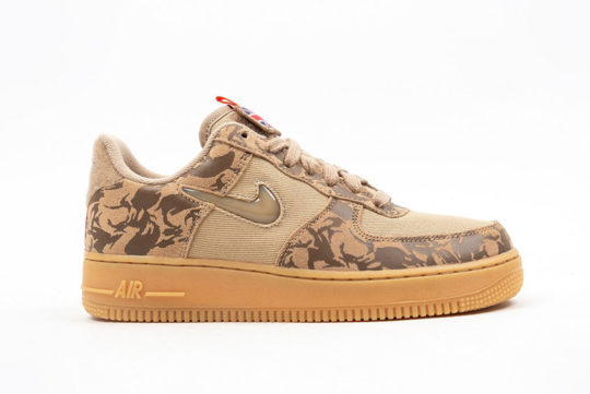 Nike Air Force 1 Low Jewel – Country Camo UK AV2585-200