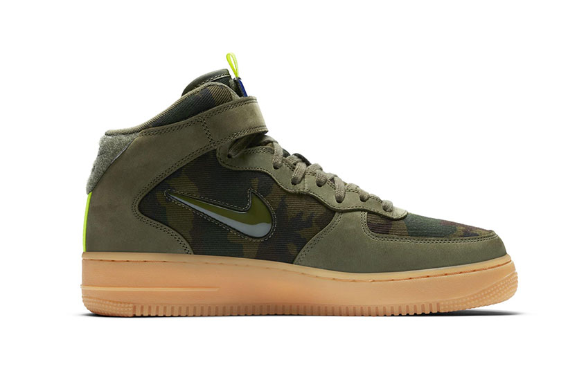 Nike Air Force 1 Mid Jewel – Country Camo France : Release