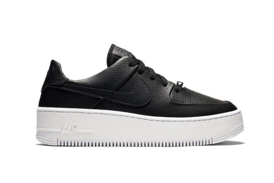 Nike Air Force 1 Sage Low Black White AR5339-002