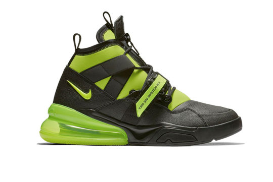 Nike Air Force 270 Utility Black Volt AQ0572-001