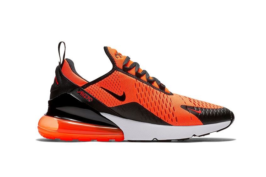 How to buy the Nike Air Max 270 Orange Black   f44df32dd