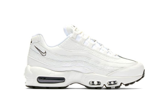 Nike Air Max 95 Leather Triple White AQ8758-100