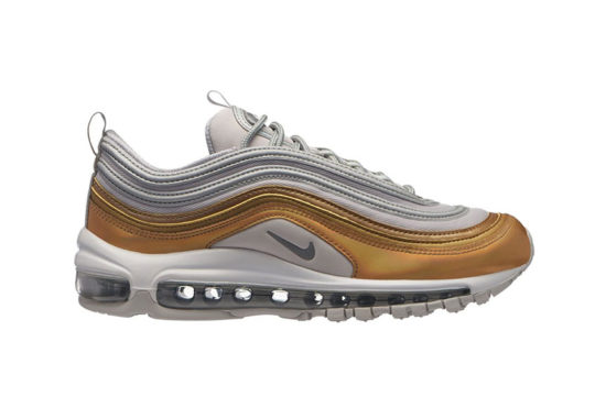 Nike Air Max 97 Grey Metallic Gold AQ4137-001
