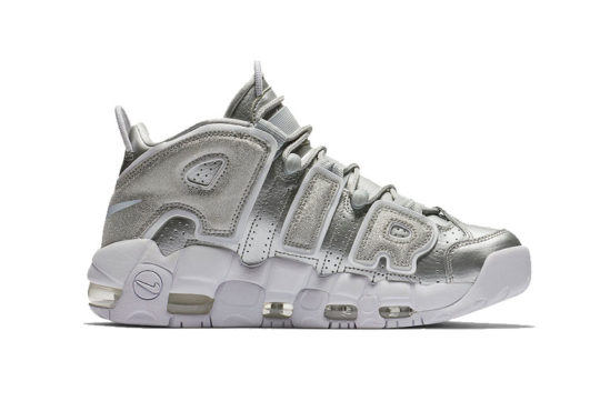 Nike Air More Uptempo Metallic Silver 917593-003