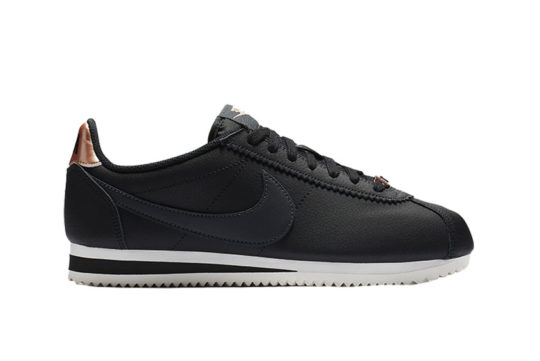Nike Classic Cortez Leather Black Bronze AV4618-001