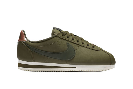 Nike Classic Cortez Leather Olive Bronze AV4618-300