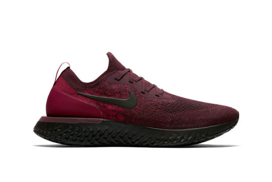Nike Epic React Flyknit Burgundy Black AT0054-600