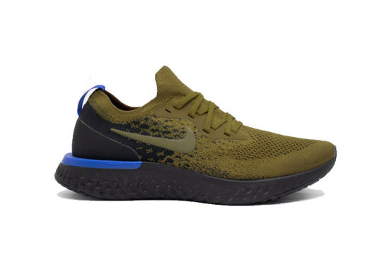 Nike Epic React Flyknit Olive Black AQ0067-301