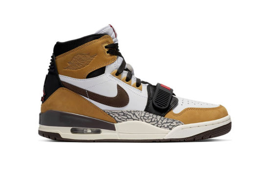Jordan Legacy 312 Rookie of the Year Wheat White AV3922-102