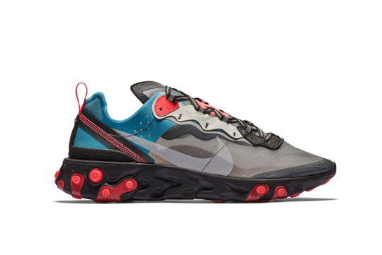 Nike React Element 87 Solar Red Aq1090-006