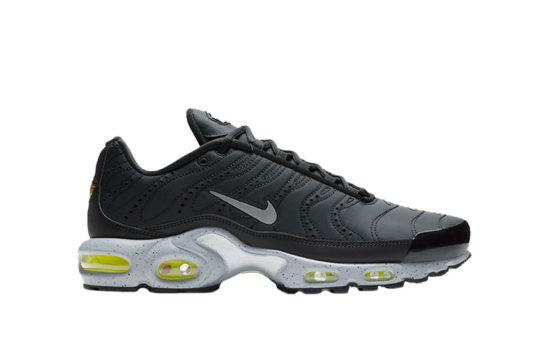 Nike TN Air Max Plus Premium Silver Volt 815994-003