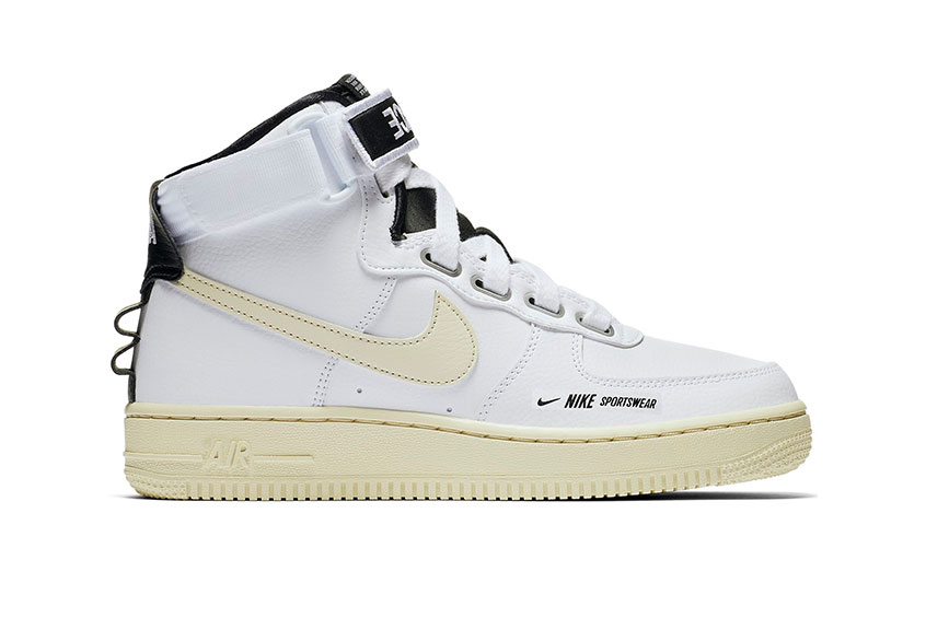 Nike WMNS Air Force 1 High Utility White : Release date, Price & Info