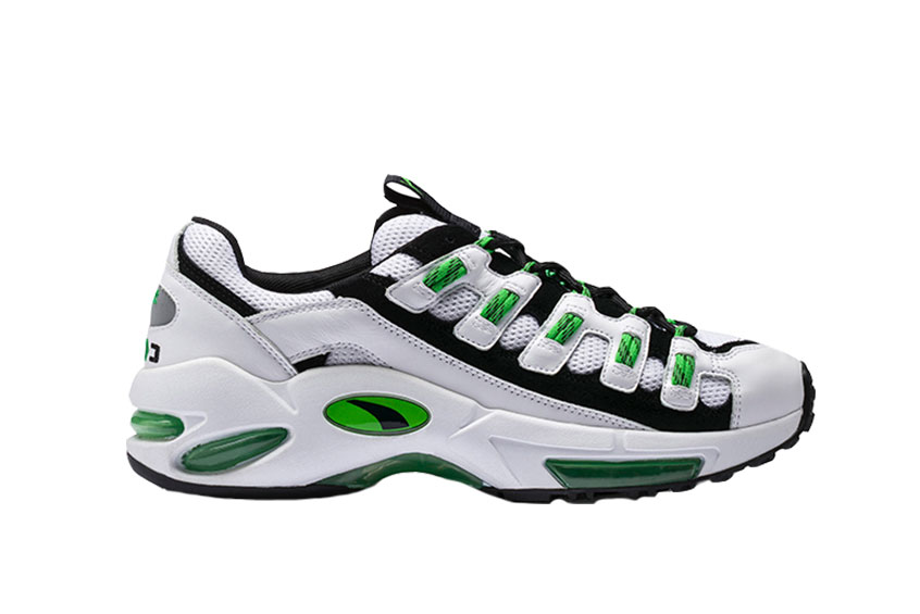 PUMA Cell Endura White Green 369633-02