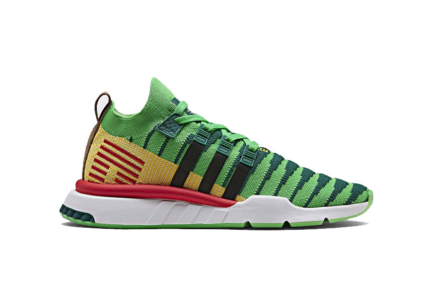 hot products fashion style best sell DBZ x adidas EQT Support ADV Shenron Green : Release date, Price & Info