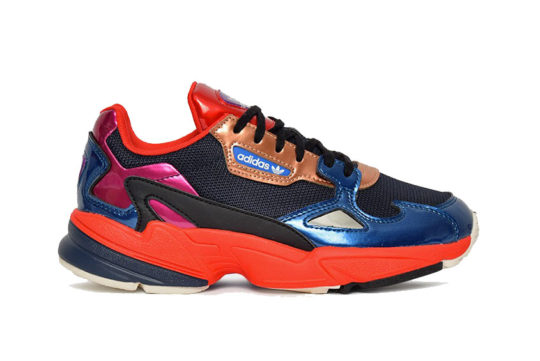 adidas Falcon Navy Red Womens cg6632