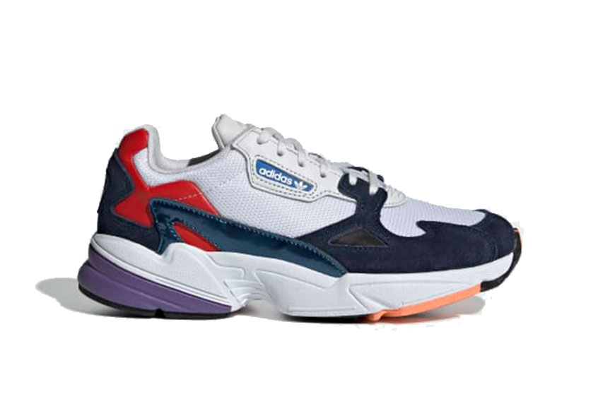 Amasar Locomotora queso  adidas Falcon White Navy Womens : Release date, Price & Info