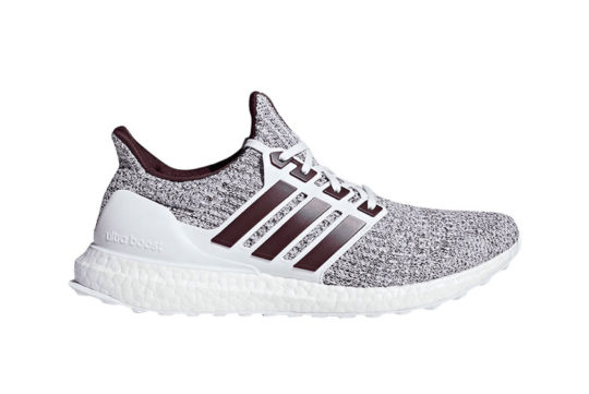 adidas Ultra Boost 4.0 White Burgundy ee3705