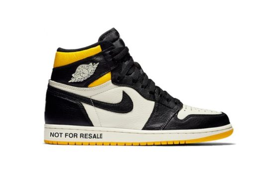 "Air Jordan 1 High OG ""No L's"" Varsity Maize 861428-107"